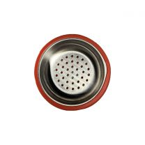 Silicone Hookah Bowl with Stainless Steel Tray