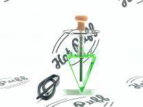 Acrylic Hookah Shisha Set with Accessories (Green)